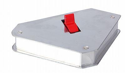 Magnet pro svařování úhlů 150x150x38 mm s vypínačem (70096)