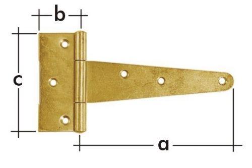 Závěs trojúhelníkový ZT125 125x35x80mm 8182