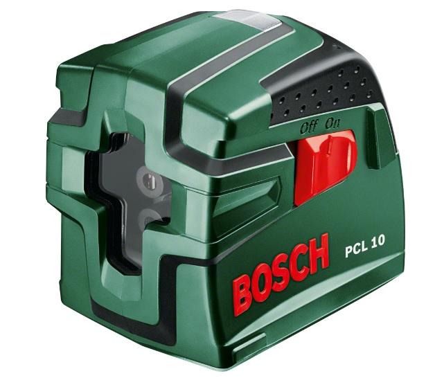 Bosch PCL 10 laser křížový