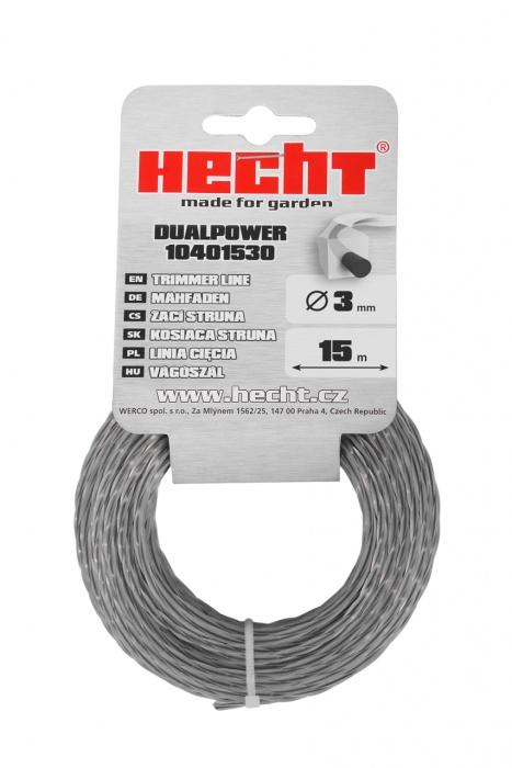 HECHT 10401530 - struna čtvercová 3 mm x 15 m
