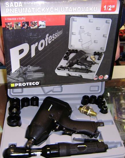 Proteco 42.01-22140 pneumatický utahovák 1/2 s ráčnou