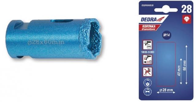 Dedra Diamantová korunka 28 mm DED1590S28