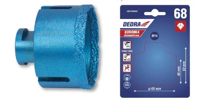 Dedra Diamantová korunka 68 mm DED1590S68