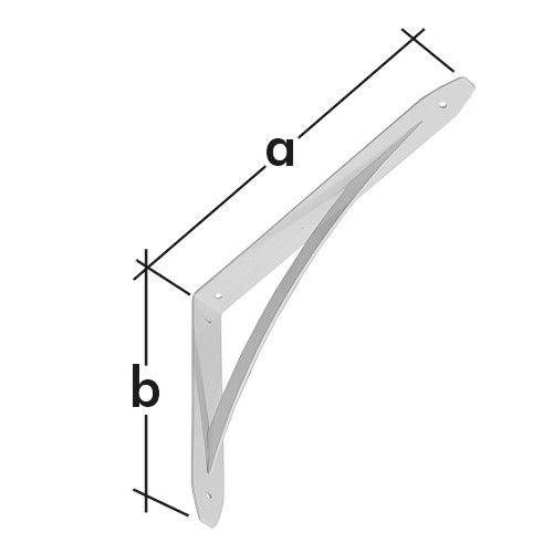 Konzola s obloukovou vzpěrou WSL 250