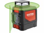 Extol Premium 8823307 Laser liniový, křížový, samonivelační, zelený paprsek