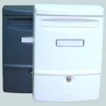 Schránka poštovní ABS 2 - 272 x 383 mm HNĚDÁ