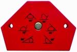 Magnet úhlový 110 x 90 mm pro úhly 30,45,60,75,90 stupňů Proteco 42.04-448