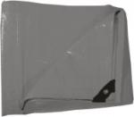 Plachta zakrývací 3x5m 130 g / m2 - šedá (102272)