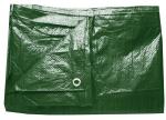 Plachta zakrývací 4x5m 80 g / m2 - zelená (102225)