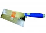 Lžíce zednická - broušená ocel, soft grip (104306)