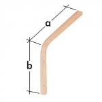 Konzola dřevěná lehká WDGL 150