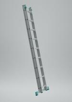 Alve Eurostyl 7507 žebřík dvoudílný univerzální 2x7 příček