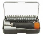 Sada bitů + rukojeť 17 ks Neo tools 04-228