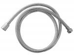 Hadice sprchová 150 cm PVC černo/stříbrná rotační (630229)