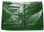 Plachta zakrývací 10x15m 200g/m2 - zelená (25170)
