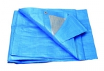 Plachta zakrývací 3x5m 140 g/m2 - modrá (25215)