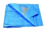 Plachta zakrývací 4x5m 140 g/m2 - modrá (25220)