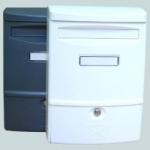 Schránka poštovní ABS 2 - 272 x 383 mm BÍLÁ