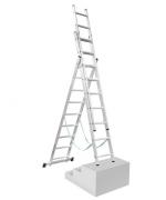 Žebřík 3x7 x úpravou na schody Proteco S-3-07