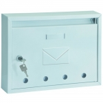 Schránka poštovní IMOLA-E bílá