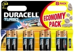 Baterie Duracell Turbo AA 1500 K8 /1ks/