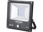 Extol Light 43232 reflektor LED s pohybovým čidlem 20W/1400lm