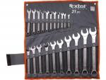 Extol Premium 6335 klíče očkoploché, sada 21ks