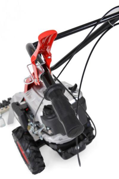 HECHT 587 - Lištová benzínová sekačka s pojezdem