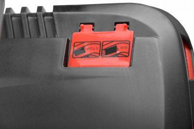 HECHT 5543 SXE - třikolová sekačka s pojezdem